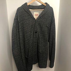 2xl Cardigan in dark grey
